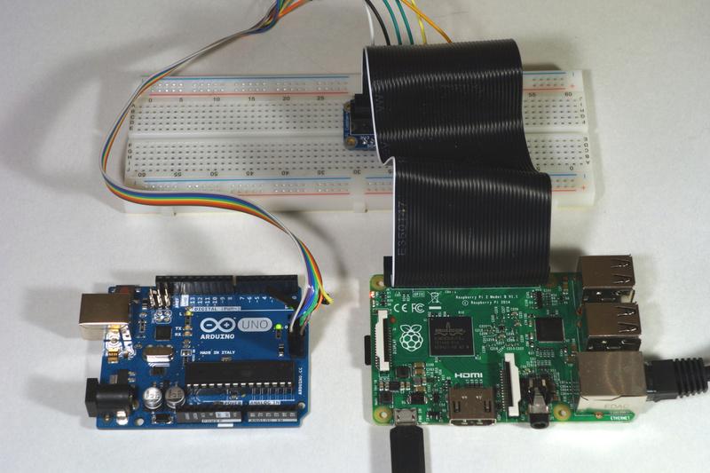 Overview program an avr or arduino using raspberry pi