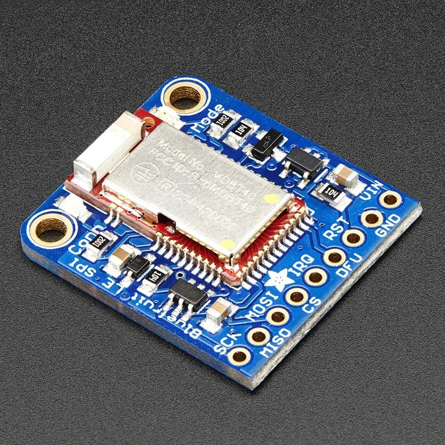 Introducing the Adafruit Bluefruit LE SPI Friend