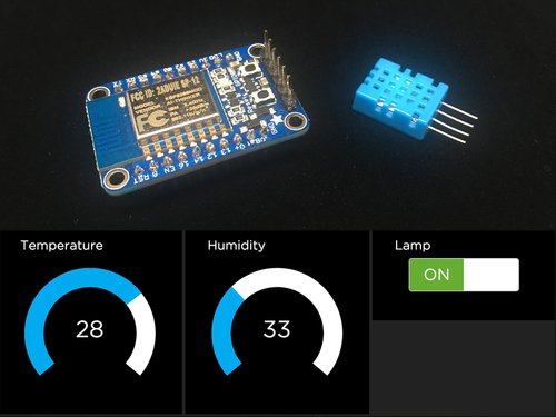 Home Automation in the Cloud with the ESP8266 & Adafruit IO