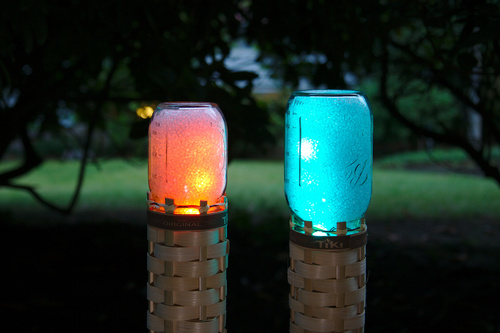 Techno-Tiki RGB LED Torch