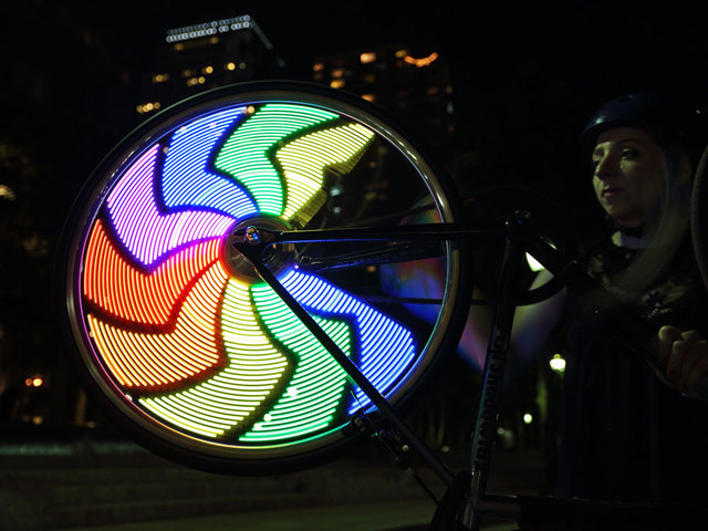 Bike Wheel POV Display