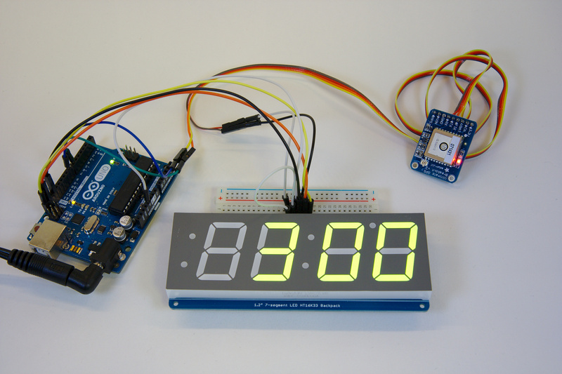 Overview arduino gps clock adafruit learning system
