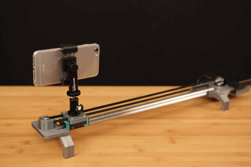 overview bluetooth controlled motorized camera slider