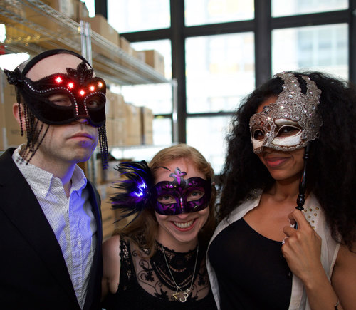 LED Masquerade Masks