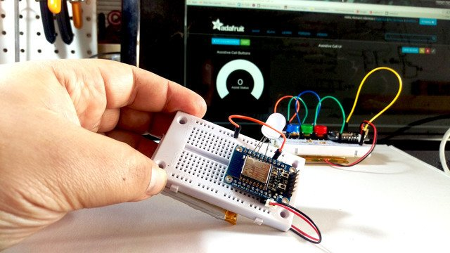 Remote Control with the Huzzah + Adafruit.io