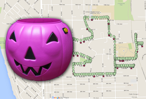Track Your Treats: Halloween Candy GPS Tracker