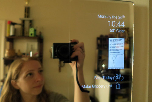 Android Smart Home Mirror