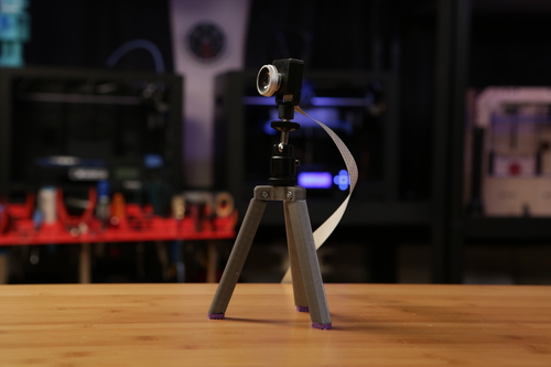 3D Printed Pi Camera Case and Tripod