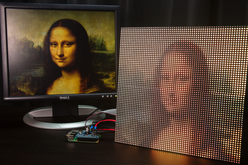 Medium 16x32 Rgb Led Matrix Panel Id 420 24 95