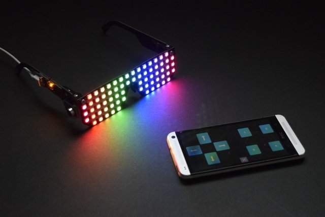 Bluefruit Controlled Macetech RGB LED Shades