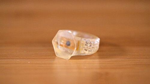 3D Printed RFID NFC Rings
