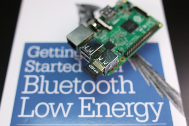 Install bluez on the Raspberry Pi