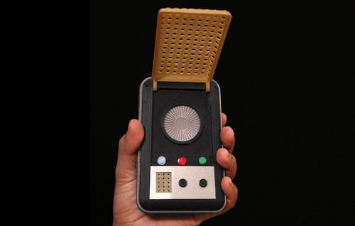 3D Printed Star Trek Communicator