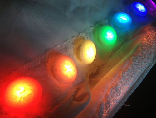3d Printed Neopixel Tactile Switch Buttons