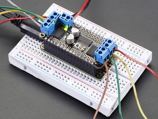 Stacking Shields Adafruit Motor Shield V2 For Arduino