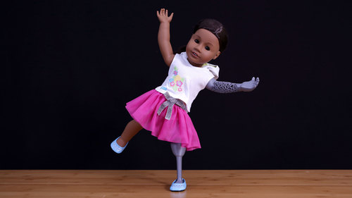 DIY Custom American Girl Doll Prosthetics