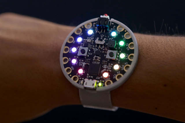 Circuit Playground Wearable