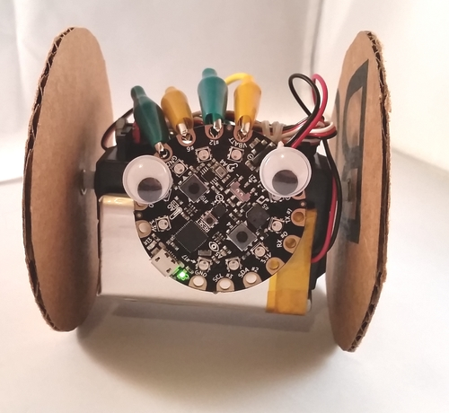 Circuit Playground Sound-Controlled Robot