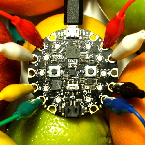 Circuit Playground Fruit Drums