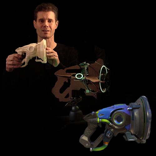 Overwatch Prop Gun: Lucio's Blaster Pt. 1
