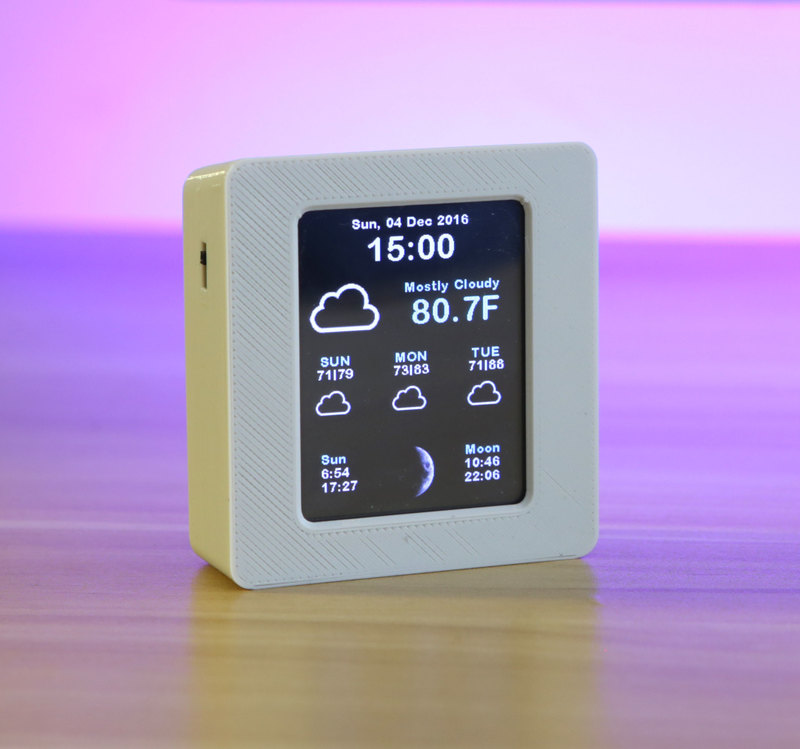 Overview | ESP8266 WiFi Weather Station with Color TFT Display