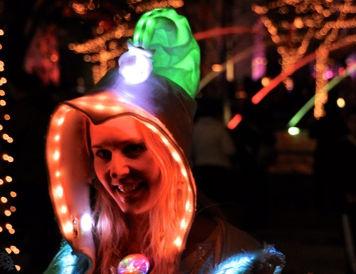 Glowing WhoVille Hat