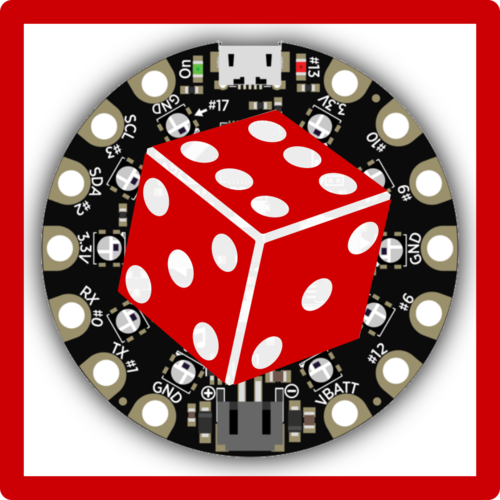 Circuit Playground D6 Dice