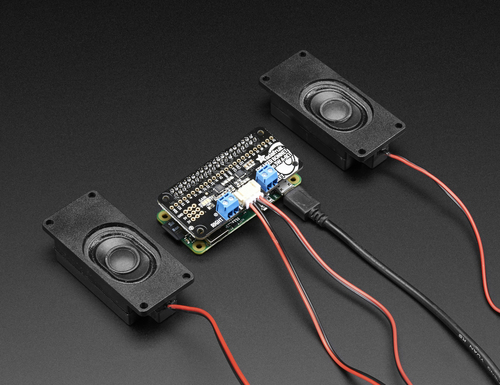 Adafruit Speaker Bonnet for Raspberry Pi