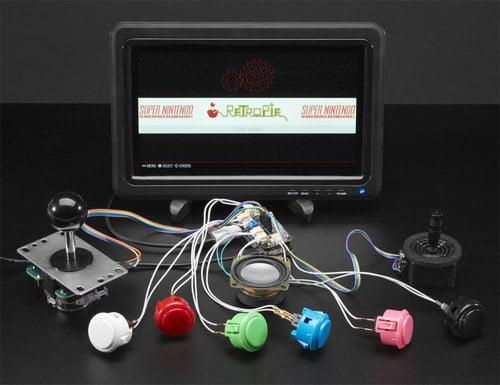 Adafruit Arcade Bonnet for Raspberry Pi