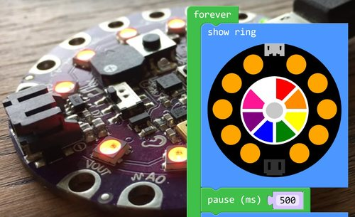 NeoPixels with MakeCode