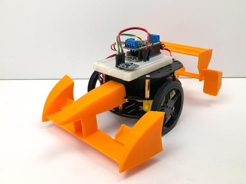 3D Printed Car Parts | My Mini Race Car | Adafruit Learning System