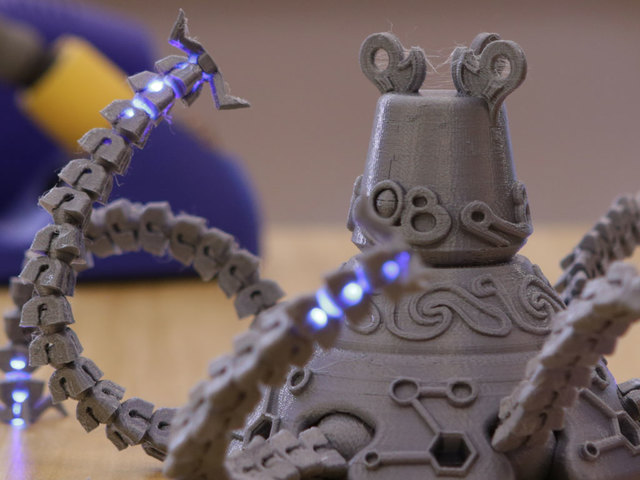 Guardian Robot with LEDs