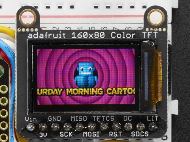 "Adafruit Mini TFT - 0.96"" 160x80"