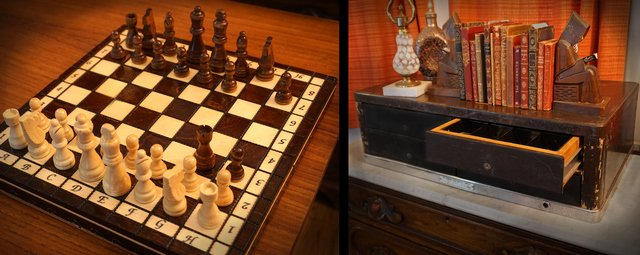 Mystery Box: Remote Chess Board Puzzle Lock
