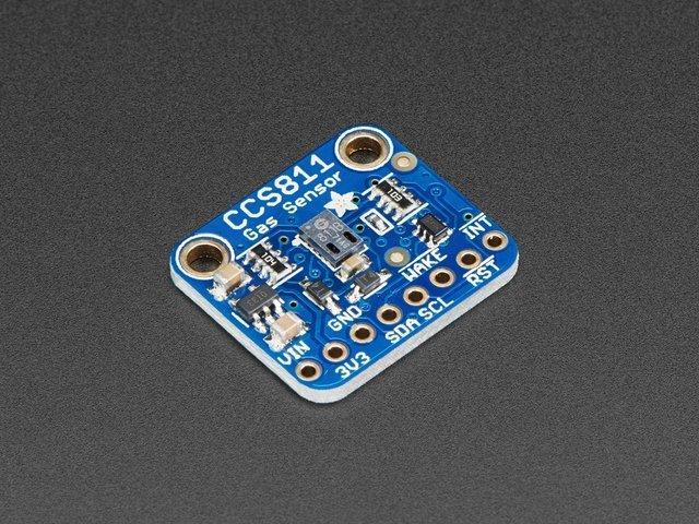 Raspberry Pi Wiring & Test | Adafruit CCS811 Air Quality Sensor ...