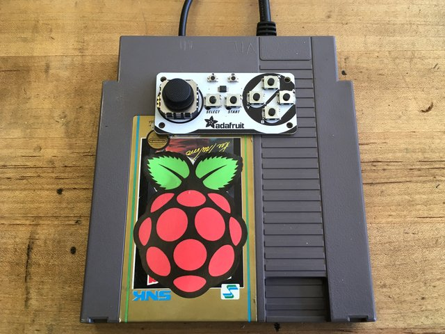 NES Cart RetroPie Game Console