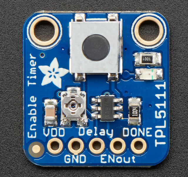 Adafruit TPL5111 Reset Enable Timer Breakout