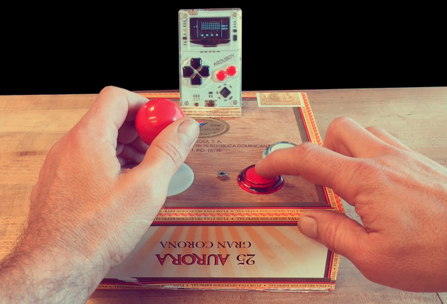 Arduboy Game Controller Hack