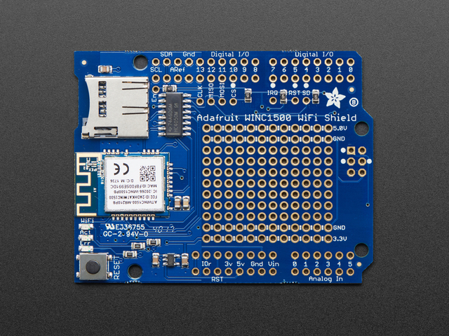 Adafruit WINC1500 WiFi Shield for Arduino