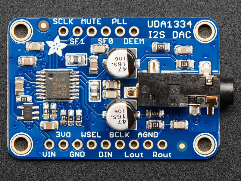 Play Audio with PyGame   Adafruit I2S Stereo Decoder - UDA1334A