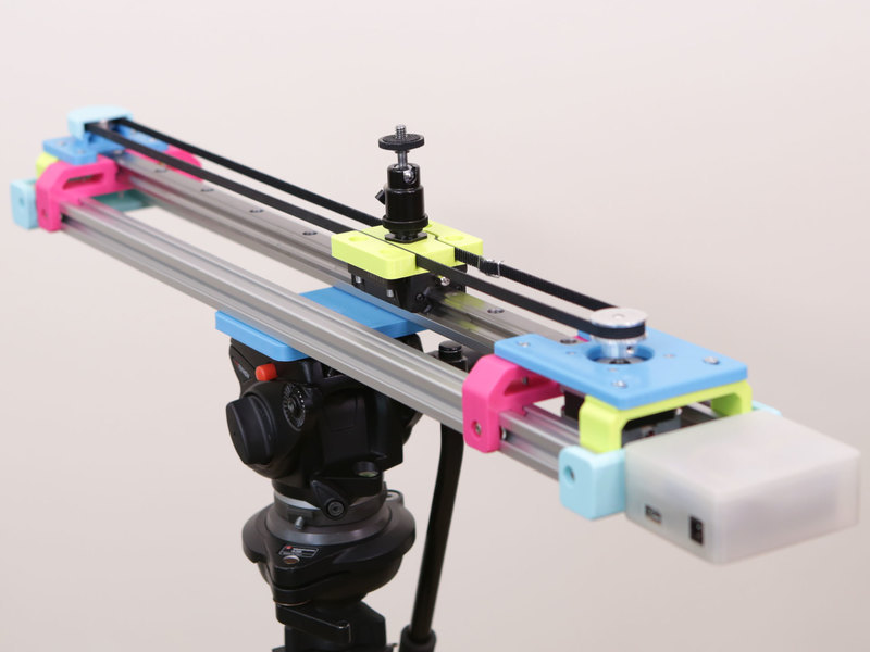 Overview   Motorized Camera Slider MK3   Adafruit Learning
