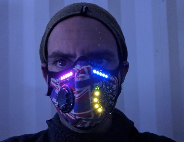 LED Breath Stats Mask