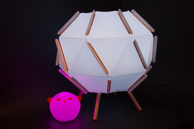 Hacking Ikea Lamps with Circuit Playground Express