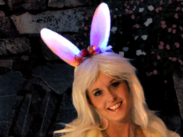 Bunny Ears with MakeCode