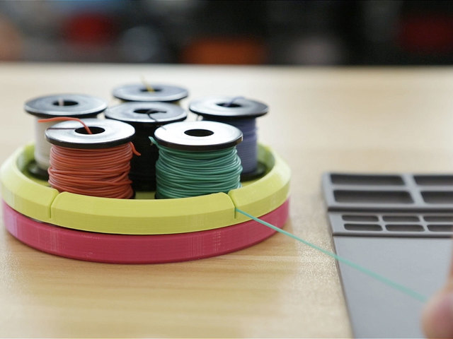 Wire Spool Carousel