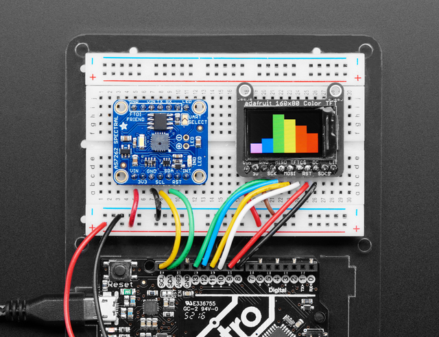 Adafruit AS7262 6-channel Visible Light Sensor