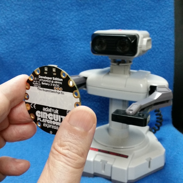 Controlling a Classic Nintendo R.O.B. Robot Using Circuit Playground Express