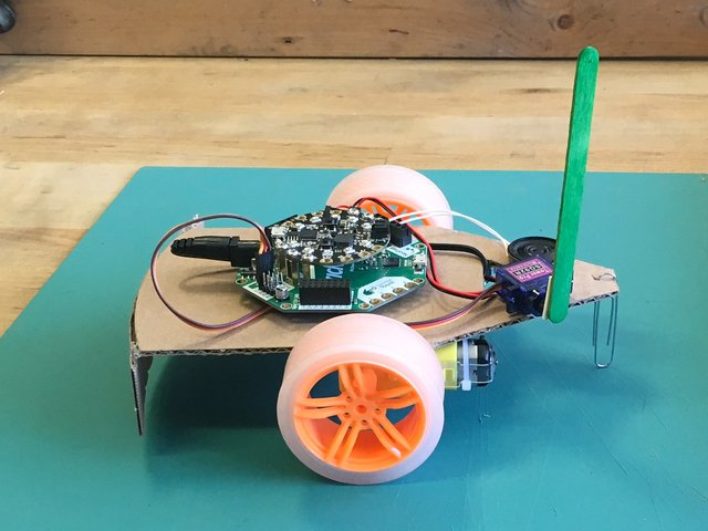 Crickit Carnival Bumper Bot