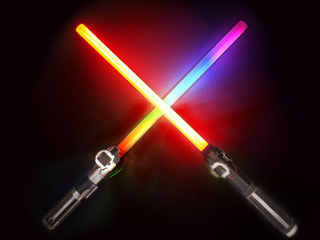 HalloWing Lightsabers