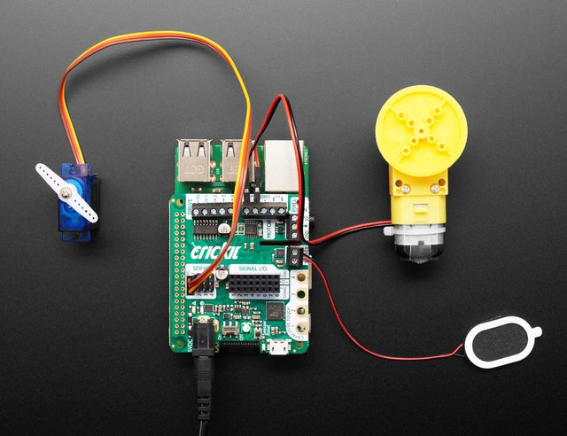 Adafruit CRICKIT HAT for Raspberry Pi Linux Computers